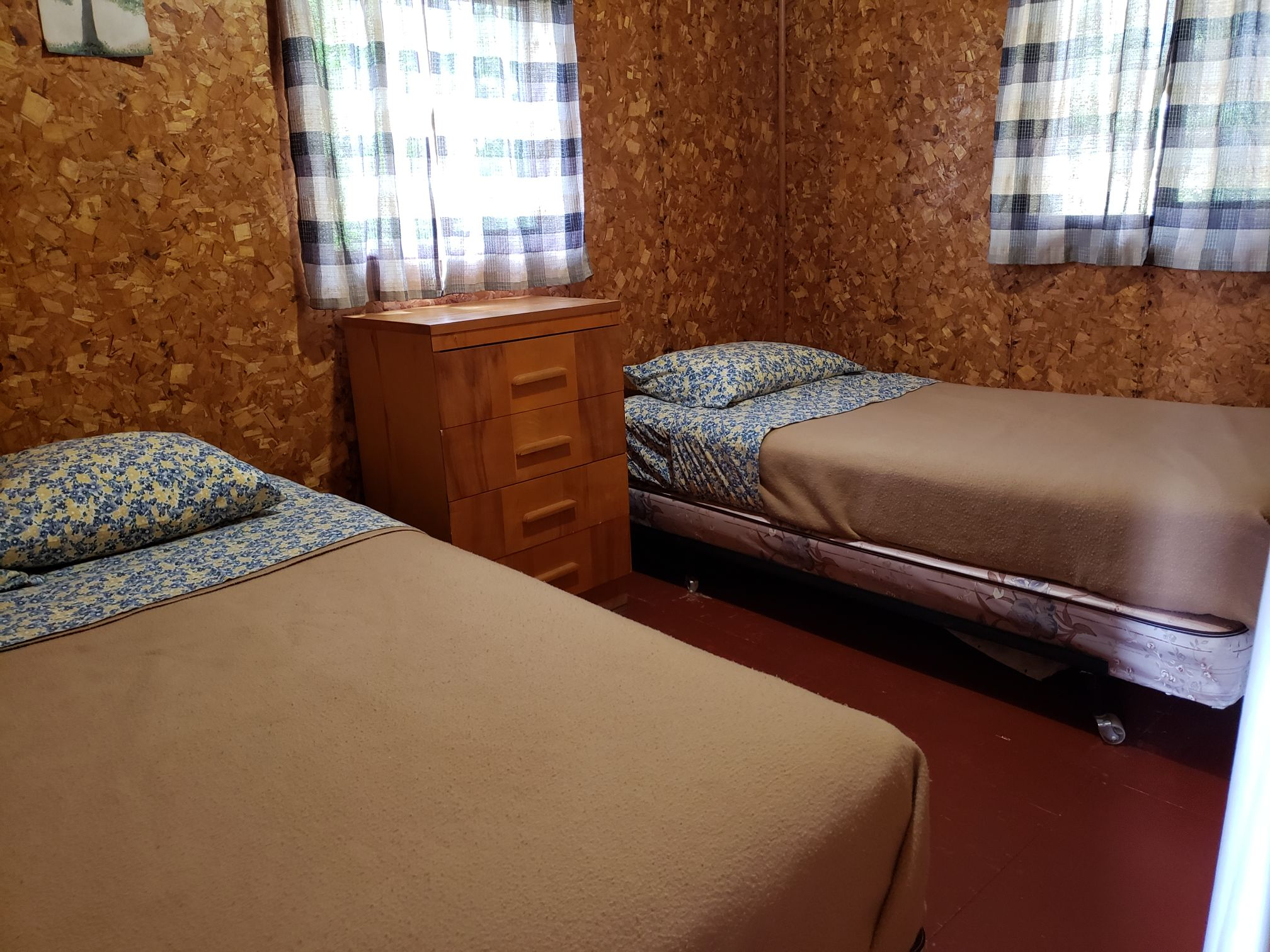 Beaver Cabin-Bedroom1-Trappers Point Camp-Sturgeon Lake-Savant Lake-Ontario