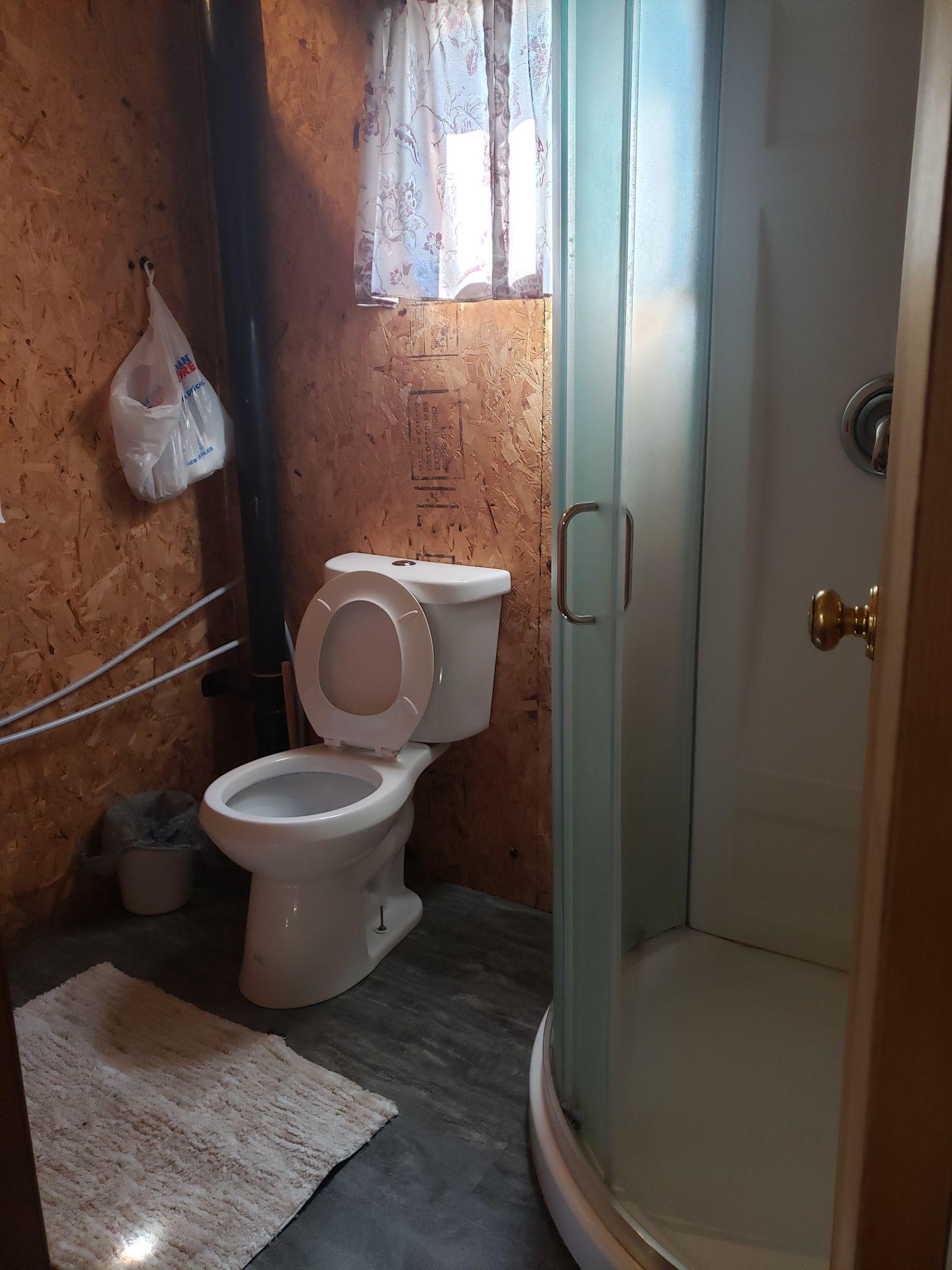 Bobcat-Bathroom2-Trappers Point Camp-Sturgeon Lake-Savant Lake-Ontario