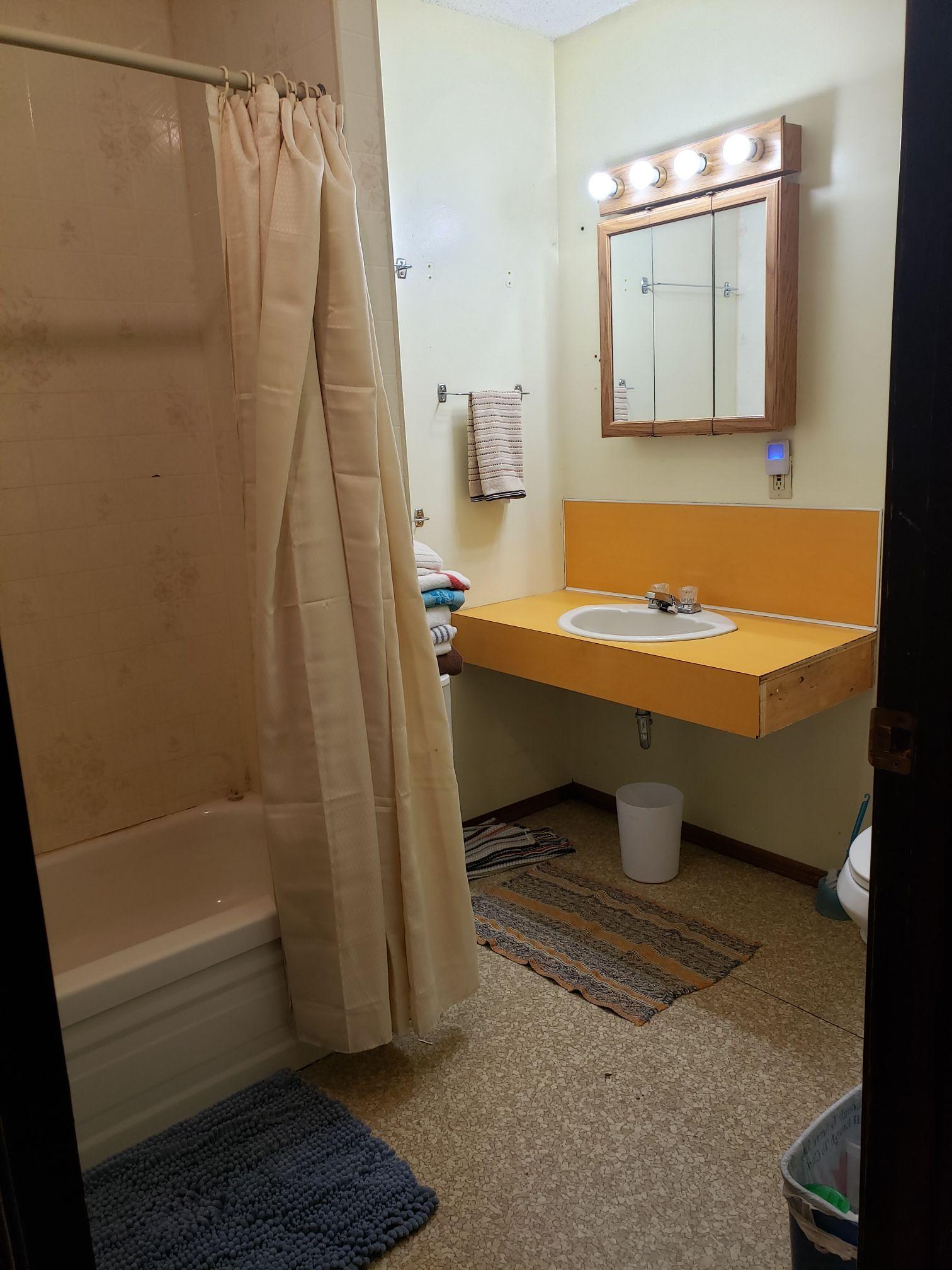 Marten Cabin-Bathroom-Trappers Point Camp-Sturgeon Lake-Savant Lake-Ontario