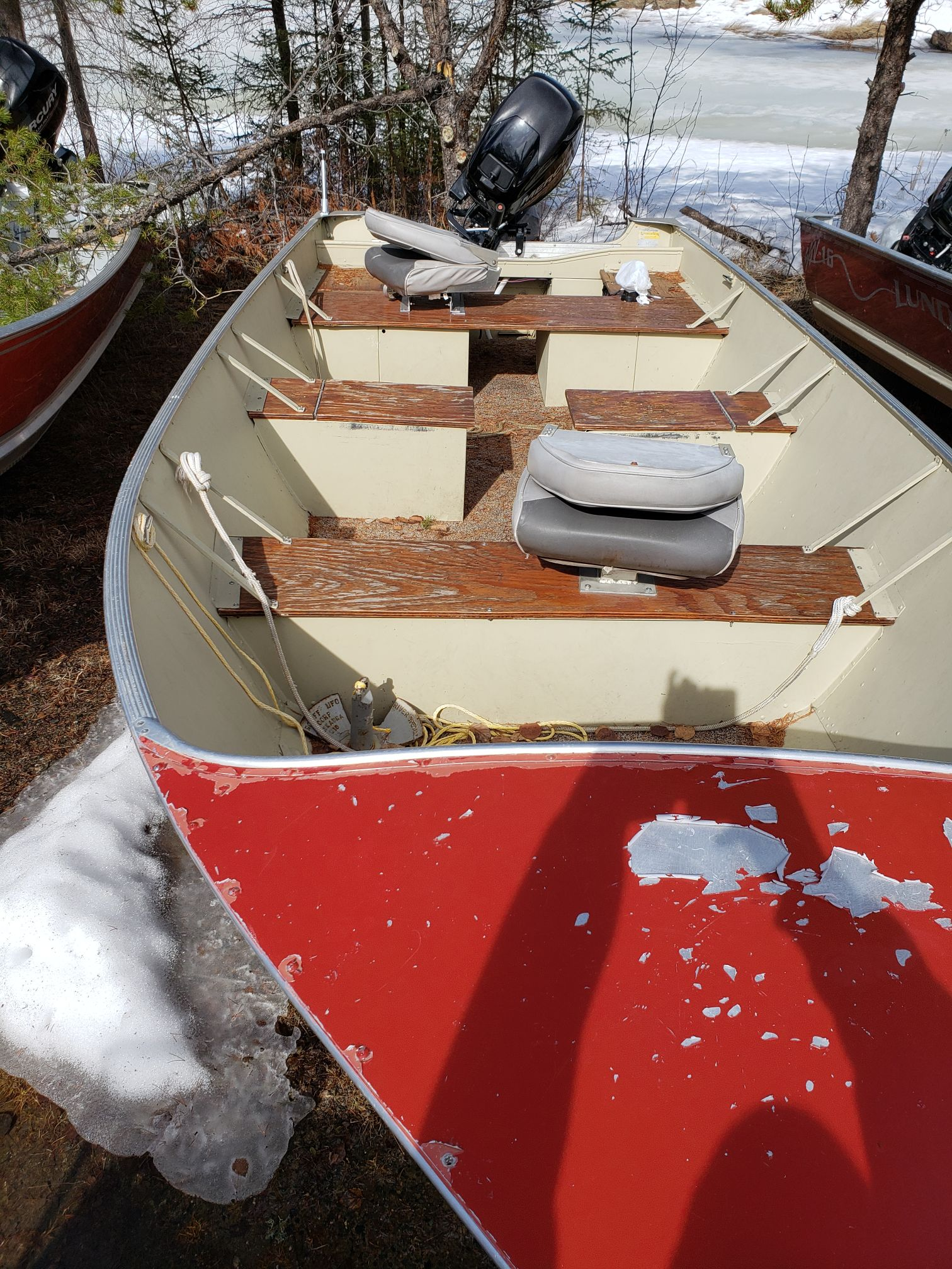 Upgraded Boat-Trappers Point Camp-Savant Lake-Ontario